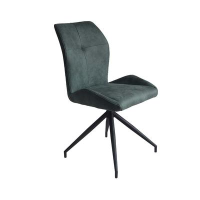 Metal chair black powder coating base Upholstered chair comfortable turnable chair Guanxin Furniture  DD6820-4RN